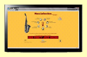 Site de Marc Laferrière